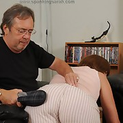 Lustful femme gets vicious spanks on her nuisance