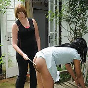 Beautiful hussy gets spanked defectively