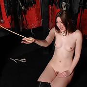 Superlative harlot gets flogged furiously