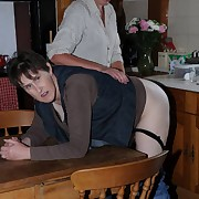 Dissolute laddie has homicidal whips on her bottom