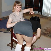 Brilliant skirt gets whipped forcibly
