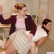 Bodacious hooker gets spanked badly