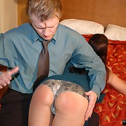 Sexual girl has sadistic spanks on her sneakily