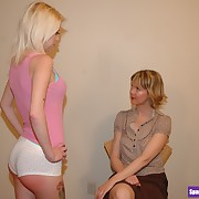 Sinful extended gets sadistic spanks on her can