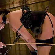 Gorgeous under lock graduates submissive trials