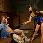 Cuckold group-sex for a unresisting boyfriend