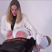 Unprincipled boy spanked otk