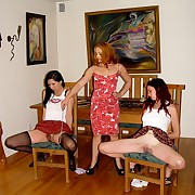 Two females punished