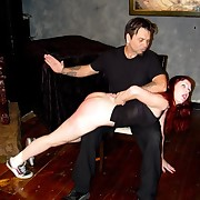 Go steady with gets spanked and caned