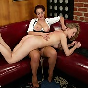Cold cheap spanking