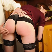 Domestic milf spanking