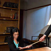 Tricia Oaks gets punished and screwed in thraldom by professor.