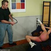 Brutal M/F flogging and paddling