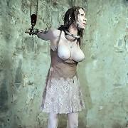 Master Matt has brought Rain DeGrey home to torture her