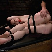 Carmen Stark is a member and fan who gets bound and fucked.