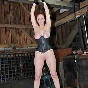 Hazel and Elise have their tits tormented by Holly Wildes