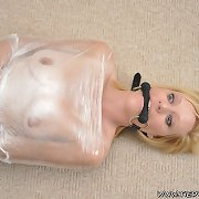 Wrapped up in plastic and compulsory to cum