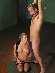 Malesub was tied, gagged and punished