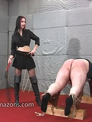 Malesub was whipped hard