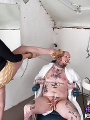 Mistress tormented hard a bad dentist