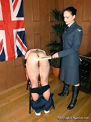 Male was punished by the cane and the paddle