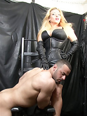 UK Mistress humiliated slaveboy