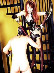 FemDom with male submissive bdsm action pix.