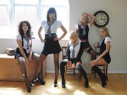 Don\\\'t my girls look lovely, learning so much but mainly how to undress each other