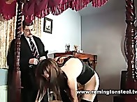 Pandora Blake is to be paddled in the most humiliating positions