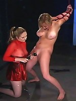 Chanta Rose, Adrianna Nicole - Harsh slave punishment