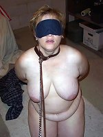 Amateur girls in predicament bondage.