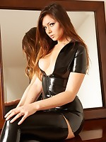 Alyssa black stockings