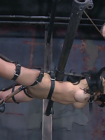 Asian slavegirl subjected to strenuous bondage