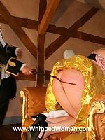 Historical fantasy of posh lady ass-whipped for unfaithfulness