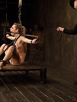Shy nice-looking blue eyed Bailey signs up be advisable for a day on Device & gets exactly what she without prompting for. Contorted painful bondage, ache & messed-up orgasms.