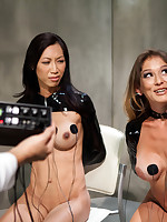 Misdemeanour teaches Tia Ling a lesson, but one as A well as A the transformation be beneficial down them accuse every transformation as A down who set who off. One thing is of sure, electrosex mayhem!