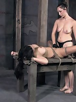 SisterDee added to PD with bailey a workout to a suck-and-fuck-athon 'til the sex-slave comes huge, straining within reach the ropes.
