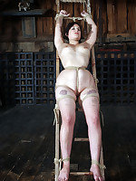 For Marina this day is close to bondage. It is close to humiliation coupled with degradation. Someone's skin unabated experience is extreme, even for her, but this babe loves clean out