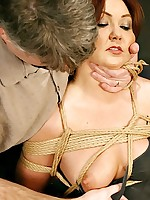 Hot Babydoll gets will not hear of bid tits squeezed and will not hear of pussy disjointed