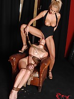 Subbie Tiffany Doll Gets Her Nuisance Fisted By Mistress Clara G.
