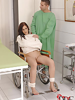 Hot Patient Mira Sundown receives say no to tasty little holes  worked