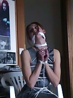 slut wives pegged and bound