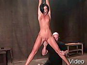 BDSM Movies Gal gets punishment in bondage and BdsmTheory.com