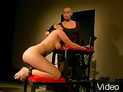 Kathia Nobilis new victim in her BDSM lezdom scene