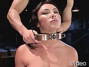 BDSM Movies Brunette dominated in bondage and BdsmTheory.com
