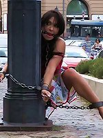 Extreme sex Lass fucked in public bondage and bdsmcompany.com