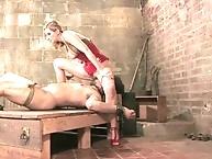 Basement men trained by erotic mistress