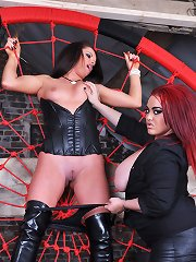 Mistress Jemstone snaring Sarah Kelly into her web to punish