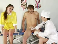 Violating nurses examined a slaveboy