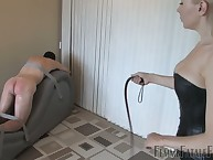 Ricochet slave got hard bullwhipping